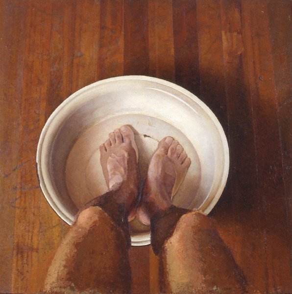 My feet in the punt | DAO