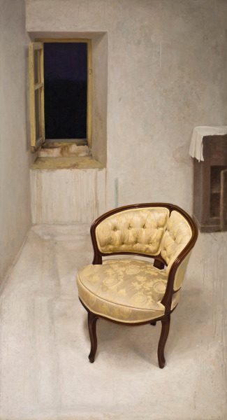 The yellow chair ('The big girl') | DAO