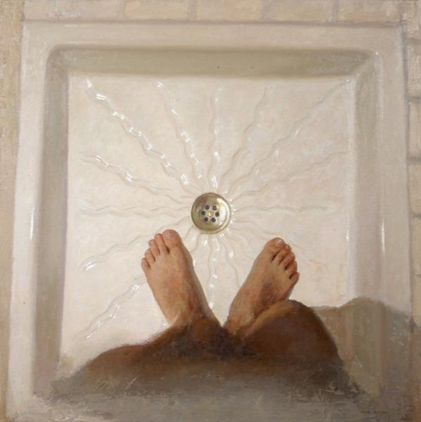 My feet in the shower | DAO